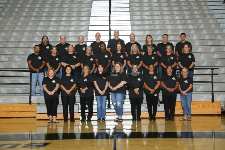All of the remaining staff here since the schools opening in 2000.