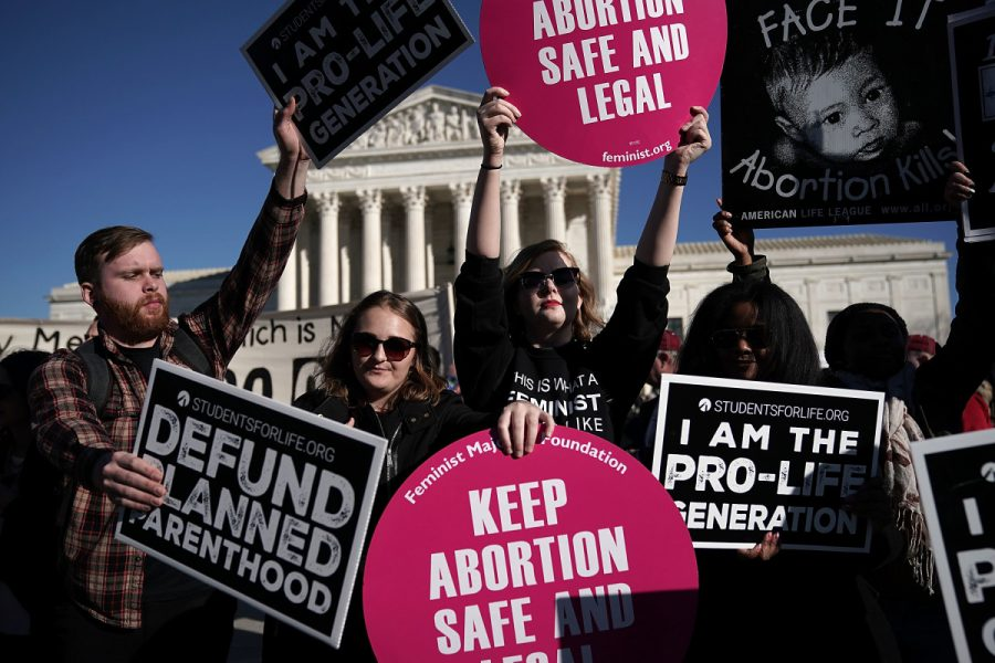 The argument on abortion contains extremes on both sides.