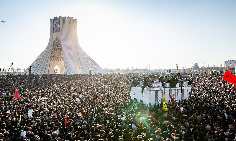 Thousands+mourn+for+Soleimani+in+Tehran