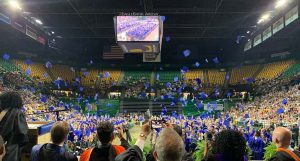 Graduation at the Eagle Bank Arena