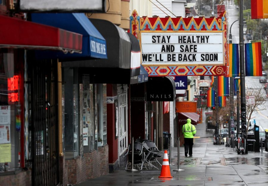 The Castro Theater in San Francisco after state shutdown