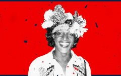Black transwoman and activist Marsha P. Johnson.