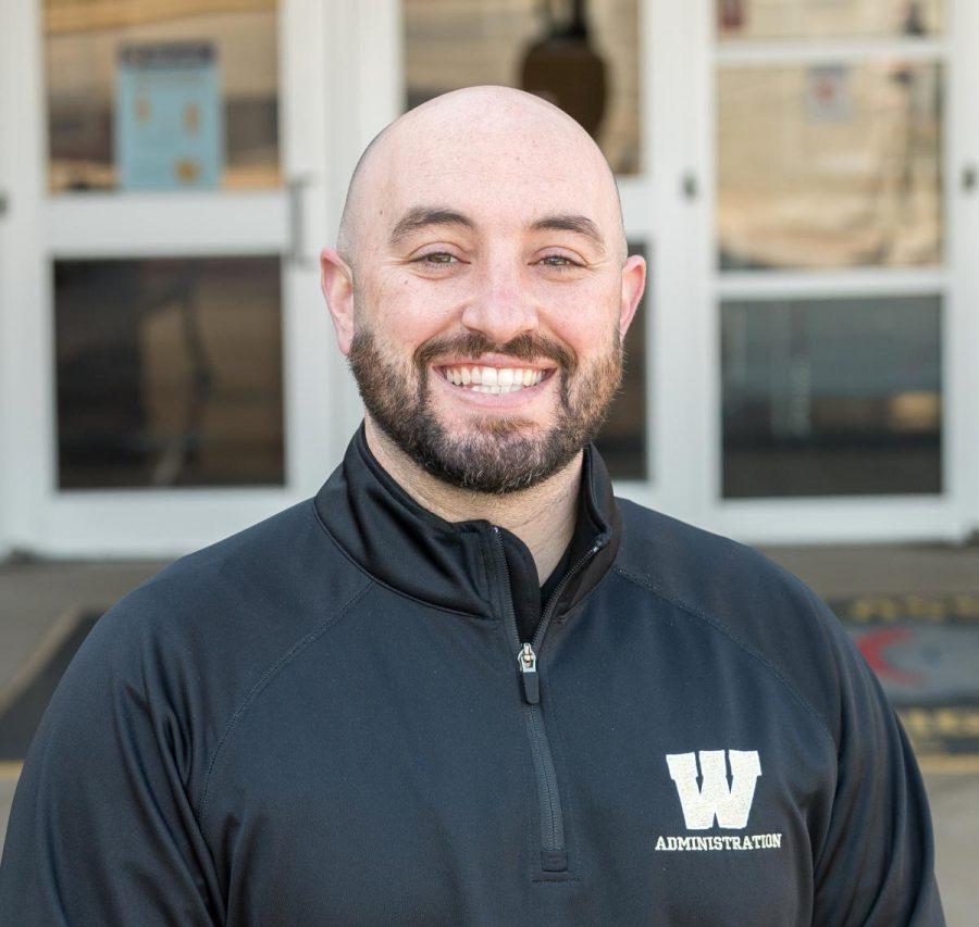 Westfield's new principal, Antonio