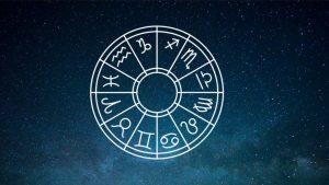 Astrology Horoscope wheel chart.