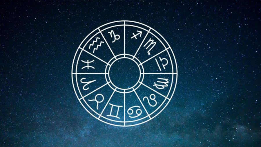 Astrology Horoscope wheel chart.