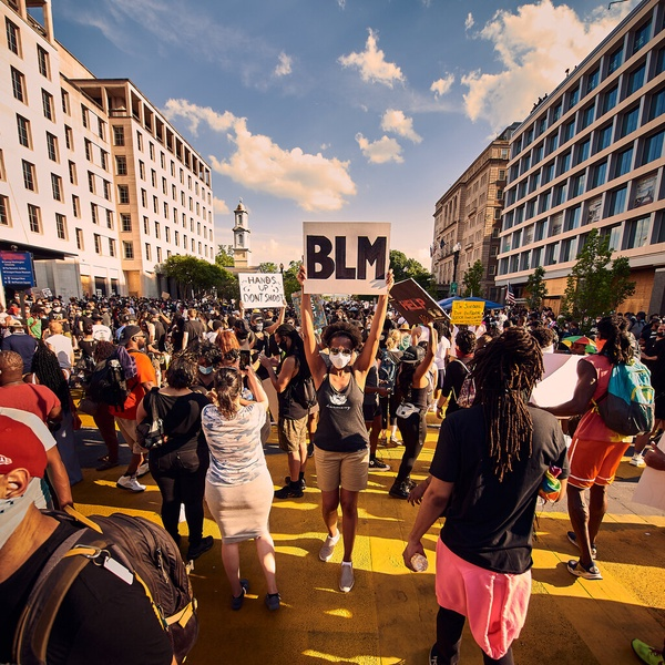 Black Lives Matter Protest in Washington DC