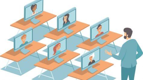 A virtual classroom. Photo Courtesy of GoGuardian (goguardian.com)