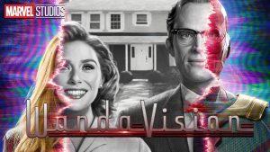 WandaVision poster Photo Courtesy of Disney.